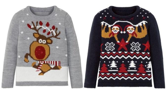Weihnachtspullover für Jungen