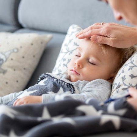 Baby erkältet Beitragsbild
