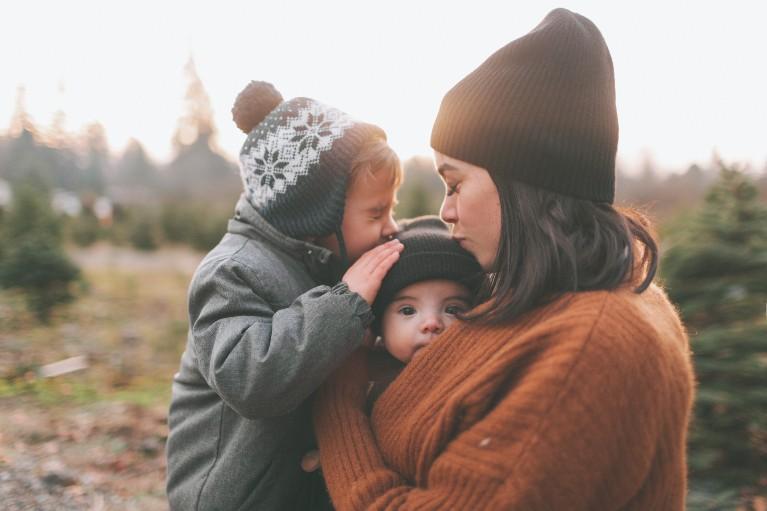 Frische Luft bei erkältetem Baby