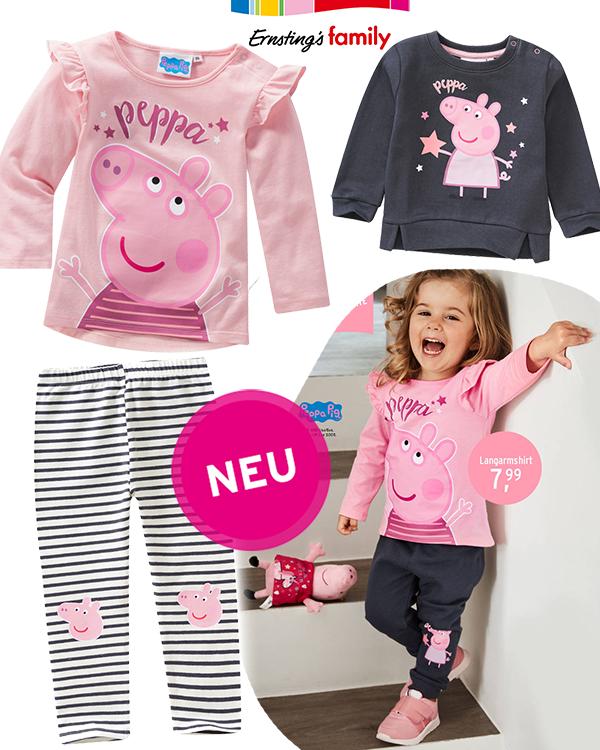 Peppa Mode für Kleinkinder