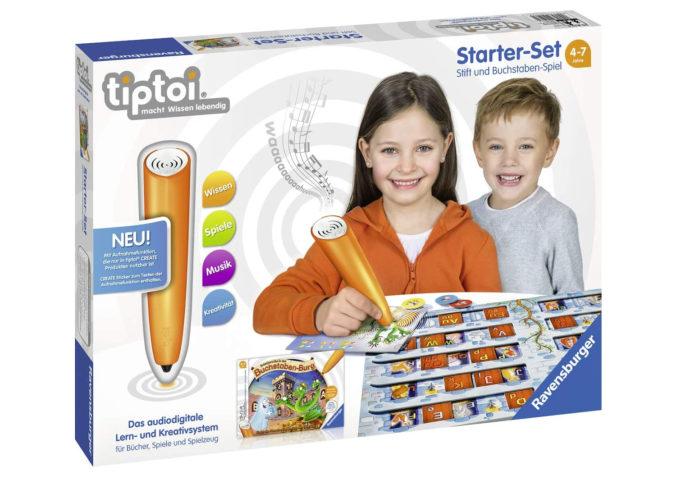 tiptoi Starterset mit Buchstaben-Spiel