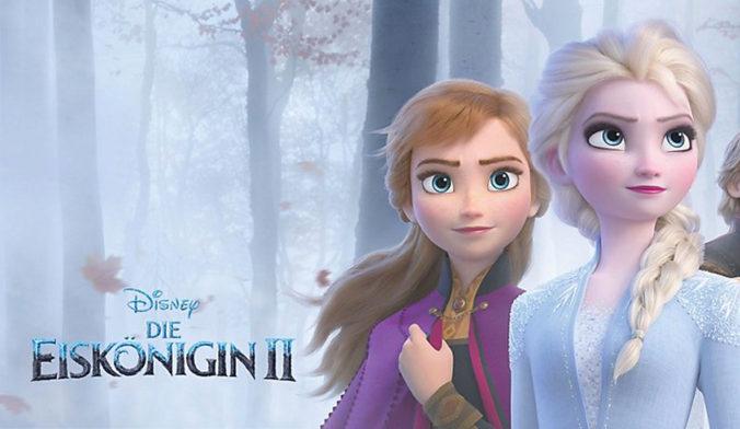 Anna und Elsa von Frozen