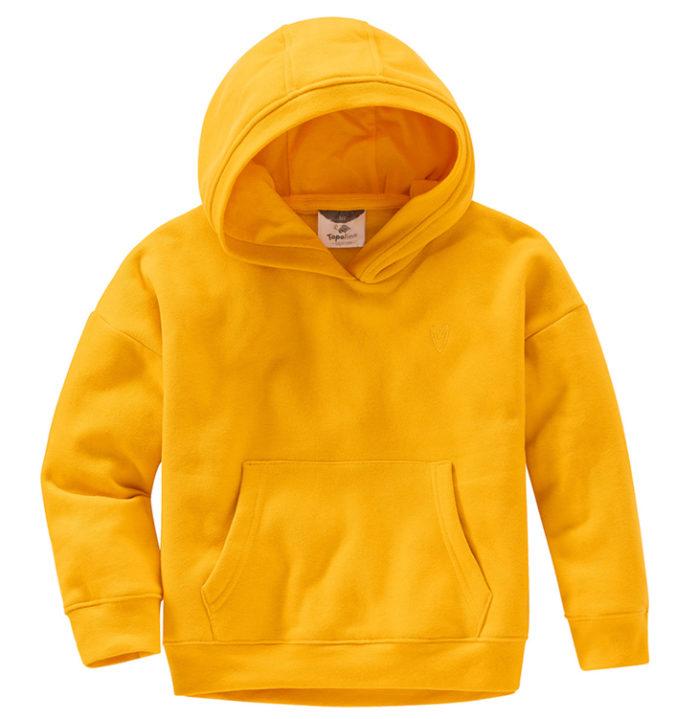 gelber Hoodie für Mädchen