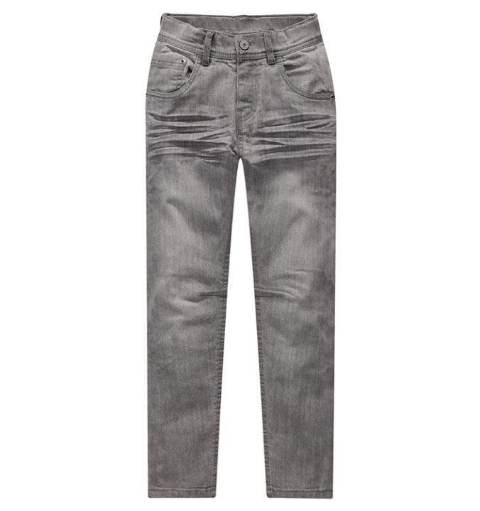 Graue Slim-Jeans für Kinder