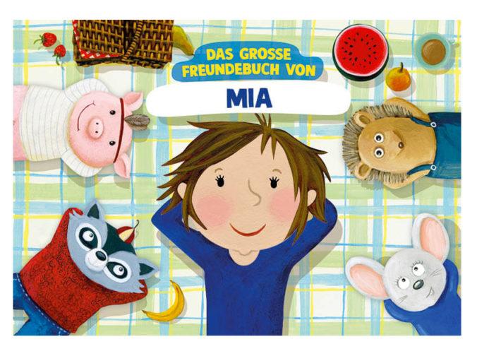 Personalisiertes Freundebuch von Kinder