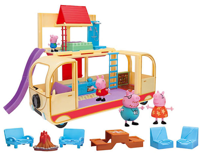 Peppa Pig verwandelbares Wohnmobil