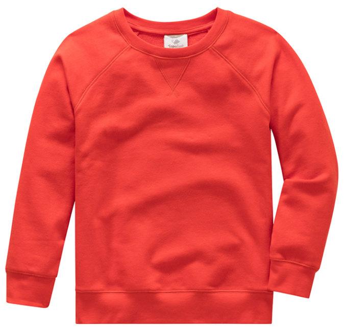 roter Pullover für Jungen