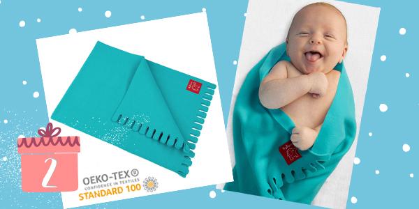 Gewinne eine Babydecke von byboom