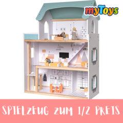 myToys Spielzeug zum halben Preis