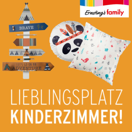 Ernsting's Angebot Kinderzimmerdeko