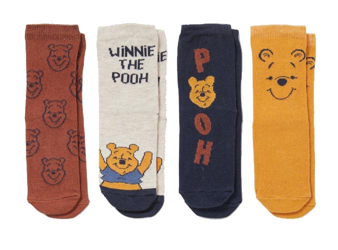 Winnie Puuh Socken 4er Set