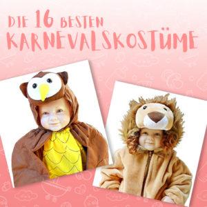 Die 16 besten Karnevalskostüme für Kinder