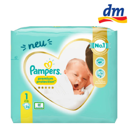 dm Pampers Premium Protection testen Beitragsbild