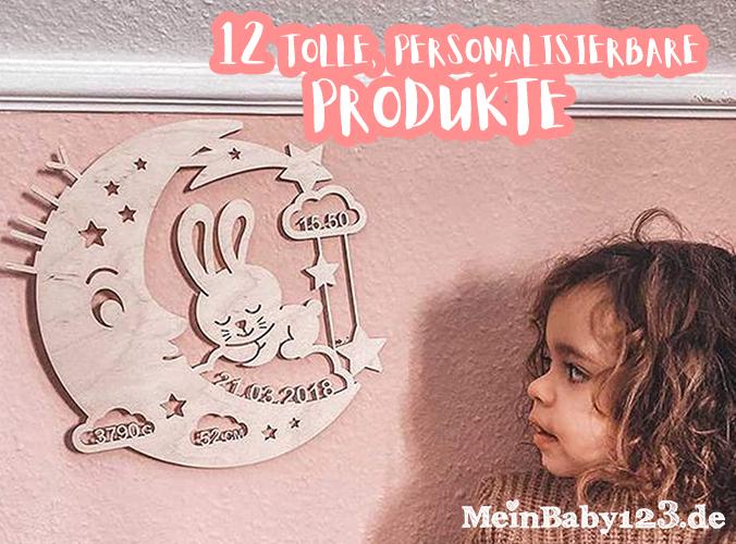 12 personalisierbare Produkte