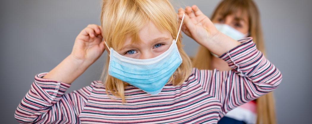 Banner: Müssen Kinder FFP2 Masken tragen?