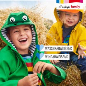 Ernsting's Family: Baby- und Kinderregenbekleidung ab 9,99€