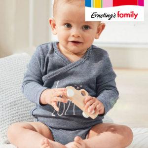 Neu: Ab 2,99€ Born 2021 Babymode bei Ernsting's Family