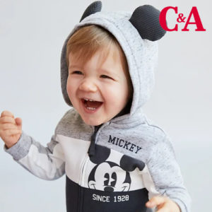 Ab 4,50€ Kinder Disney Mode bei C&A