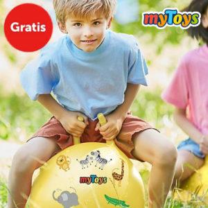 Gratis Geschenk Hüpfball bei myToys