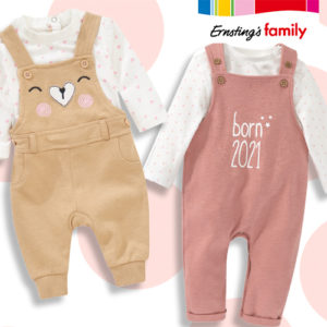 Ernsting's Family: Newborn Kollektion ab 2,99€
