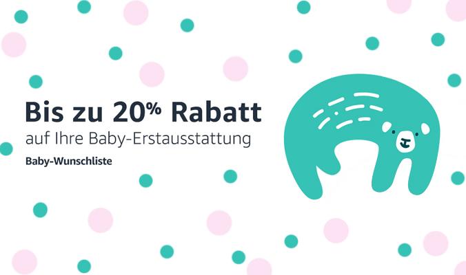 Baby Wunschliste 20% Rabatt
