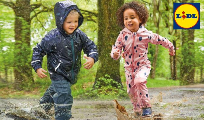 Kinder Regenbekleidung LIDL