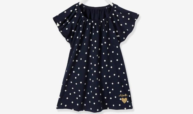 Mädchen T-Shirt mit Volantärmeln