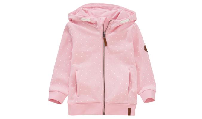 Mädchen Sweatjacke rosa