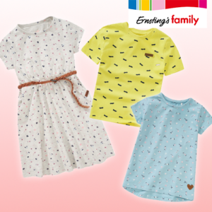 Ernsting's Family: Neue Kindermode ab 6,99€