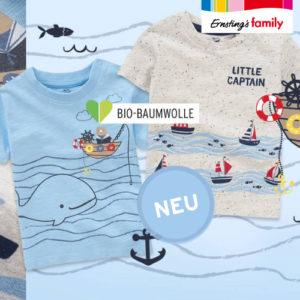 Ernsting's Family: Jungenmode – Ahoi, Kapitän ab 2,99€