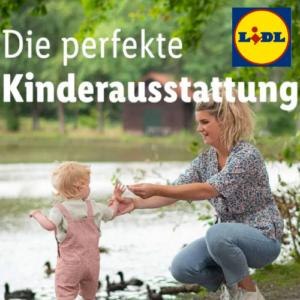 Ab 24,99€ Kinderausstattung bei LIDL