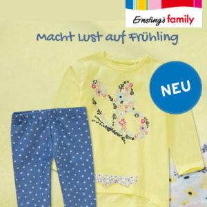 Ernsting's Family: Spring Love Mädchenmode ab 5,99€