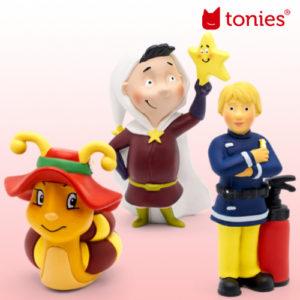 Neue Tonies: Der Sternenmann, Feuerwehrmann Sam und viele mehr!