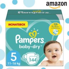 Pampers reduziert Amazon