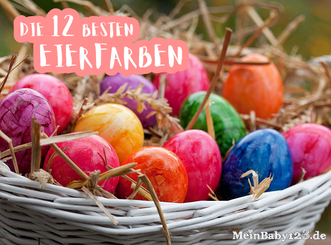 Die 12 Eierfarben Artikelheader