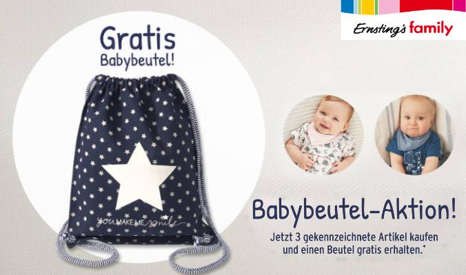 Babybeutel gratis
