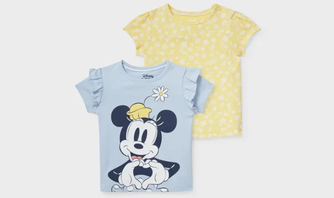 Baby T-Shirt 2er