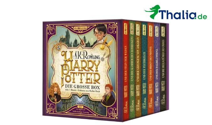 Harry Potter Hörbuch Box