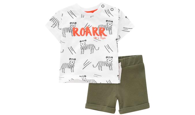 Newborn T-Shirt und Shorts im Set