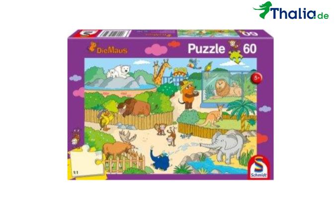Puzzle Maus