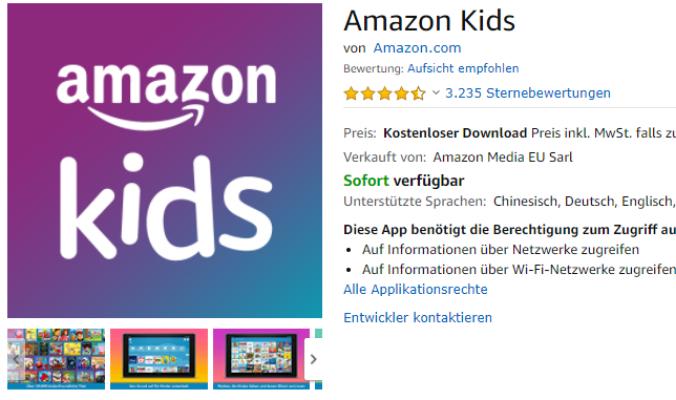 Amazon kids