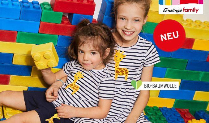 Ernsting's Family neue Kindermode