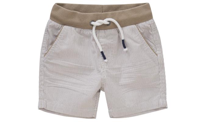 Baby Shorts im gestreiften Dessin