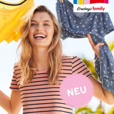 3 für 2 Aktion Ernsting's Family T-Shirt