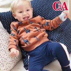 C&A Babymode mit Tiermotiven