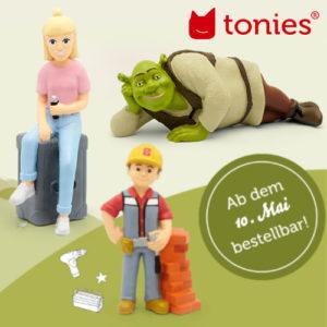 Neue Tonies: Bob der Baumeister, Janosch und viele mehr!