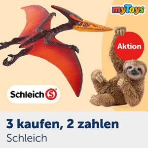 myToys: 3 für 2 Aktion von Schleich