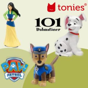 Neue Tonies: Paw Patrol, 101 Dalmatiner und viele mehr!