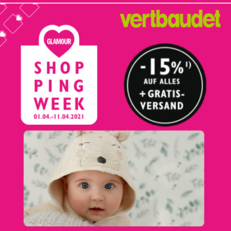 vertbaudet Shopping Week Rabatt