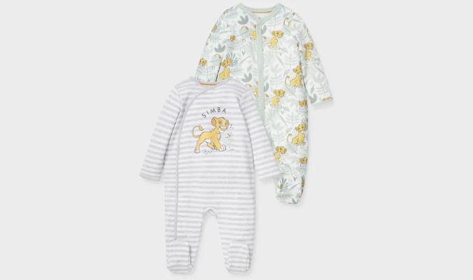 Multipack 2er - Der König der Löwen - Baby-Schlafanzug